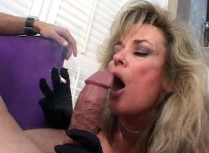 Mature loves cock