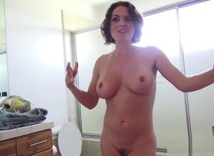 Naked milf boobs