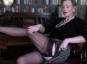 Stockings tease video